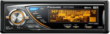 CD/MP3 Player Panasonic CQ-C7305